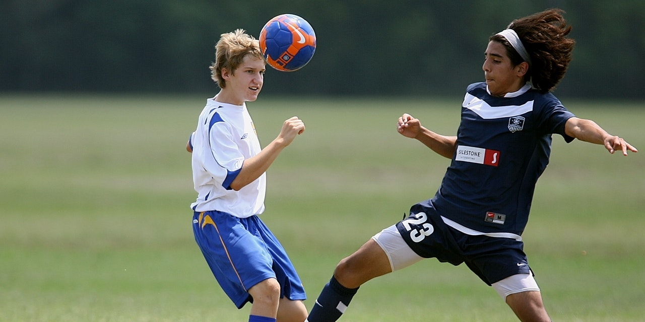 Boys playing soccer — NY Homeschoolers Seek Right to Participate in High School Sports