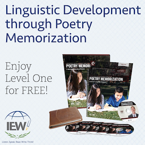 Linguistic Development through Poetry Memorization. Enjoy Level One for free.